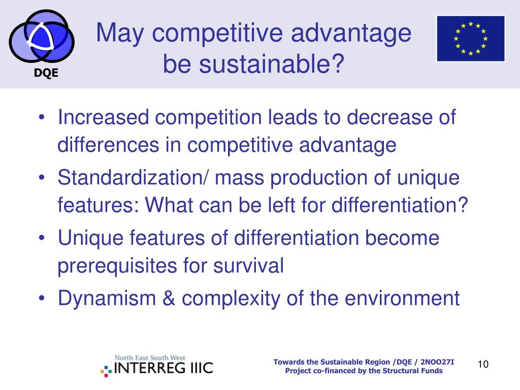 can competitive advantage be sustainable Executives must examine such activities for ways in which information technology can create sustainable competitive advantage in competitive scope can.