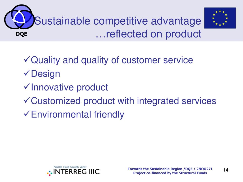 """sustainability of competitive advantage Environmental sustainability principles frame nike's business model and its determination to limit the use of natural resources in fact for nike, sustainability is an """"opportunity for innovation"""" eco-friendly materials, products and process innovation strategies are being deployed."""