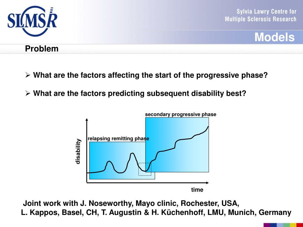 secondary progressive phase