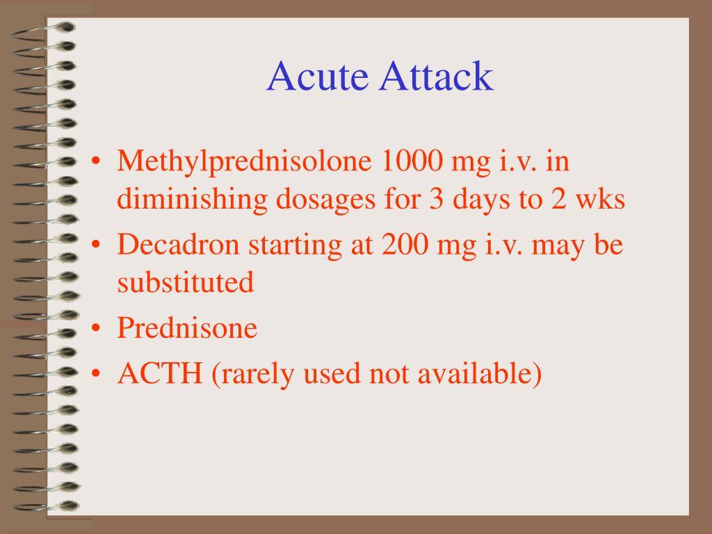 Acute Attack