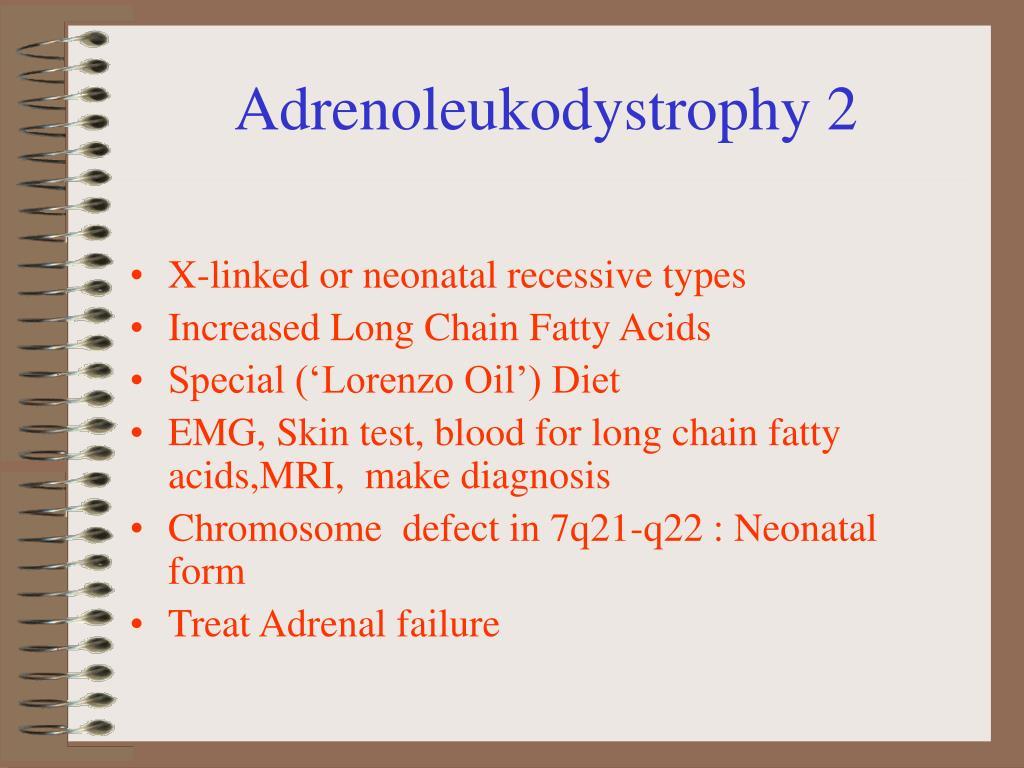 Adrenoleukodystrophy 2