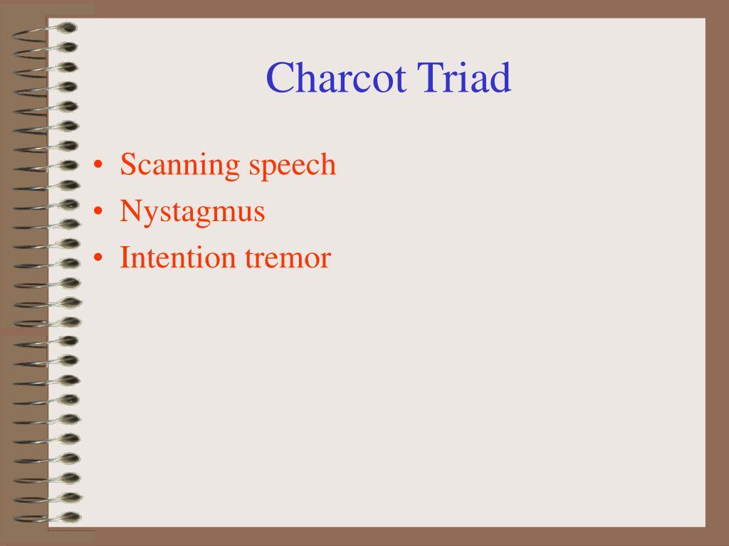 Charcot Triad