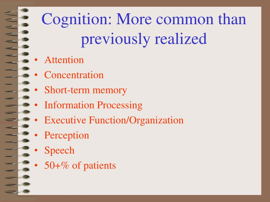 Cognition: More common than previously realized