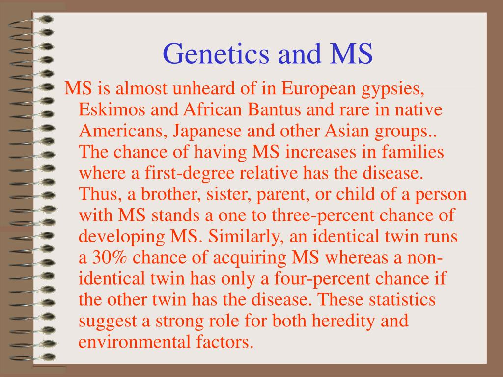 Genetics and MS