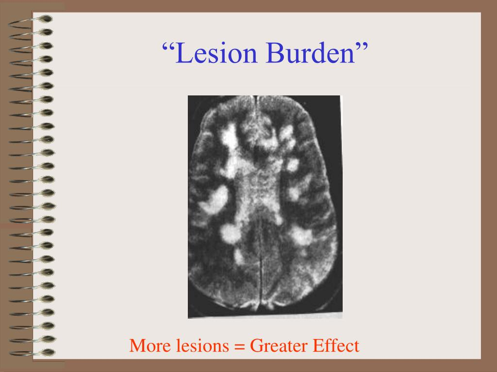 """Lesion Burden"""
