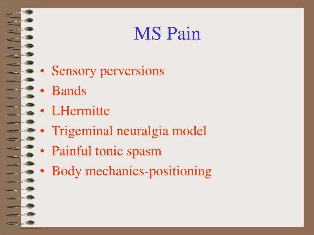 MS Pain