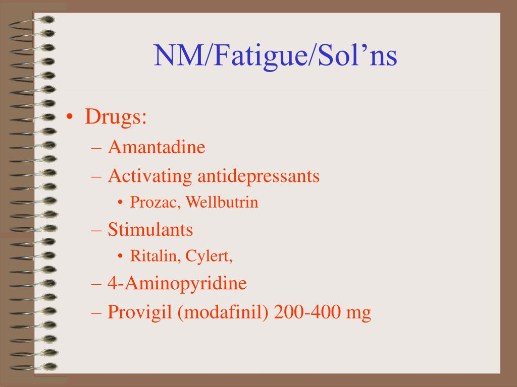 NM/Fatigue/Sol'ns