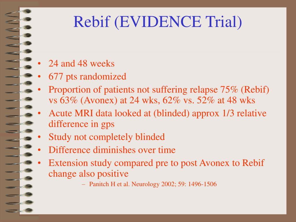 Rebif (EVIDENCE Trial)