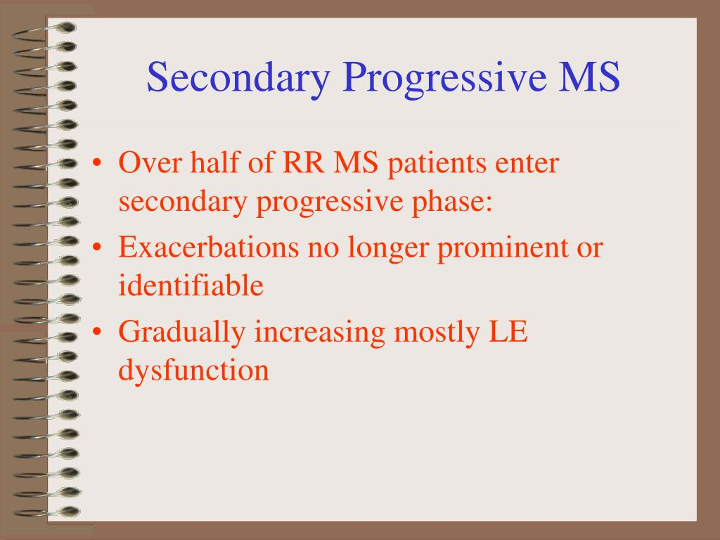 Secondary Progressive MS