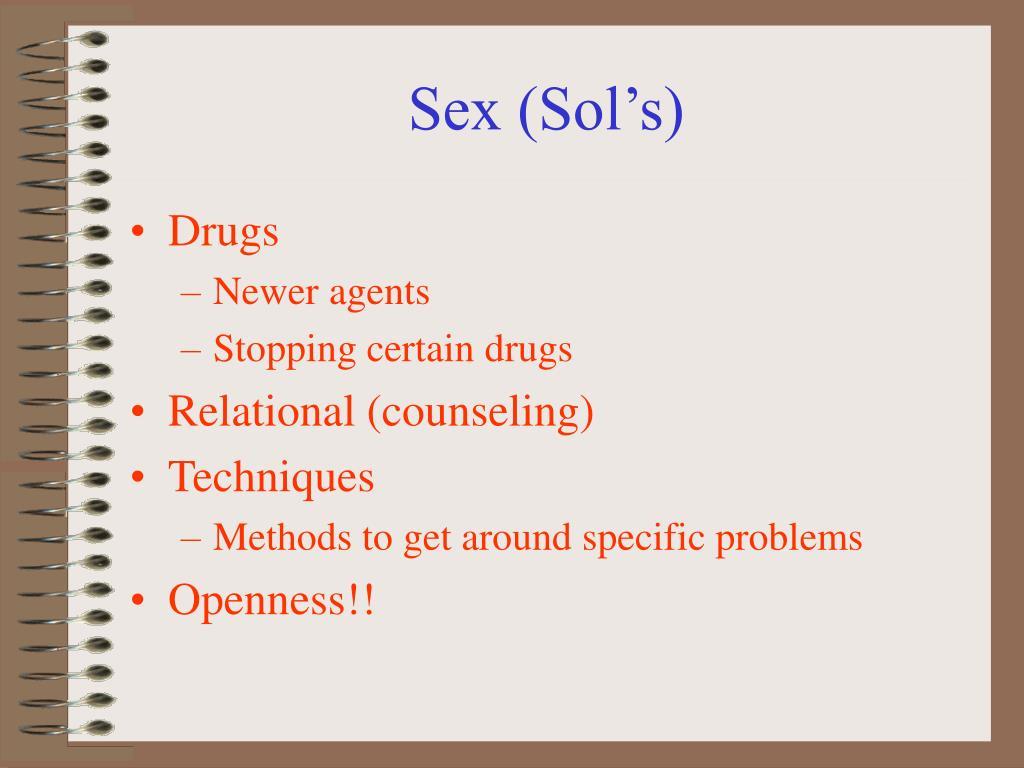 Sex (Sol's)
