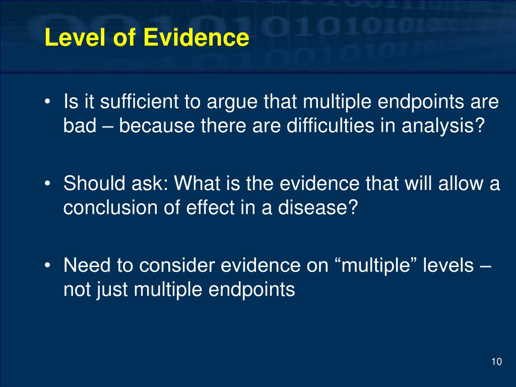 Level of Evidence