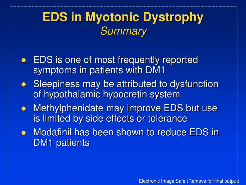 EDS in Myotonic Dystrophy