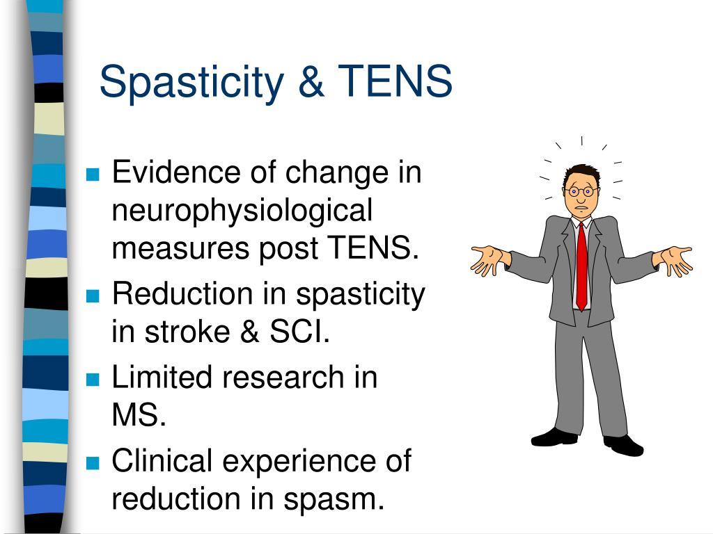 Spasticity & TENS