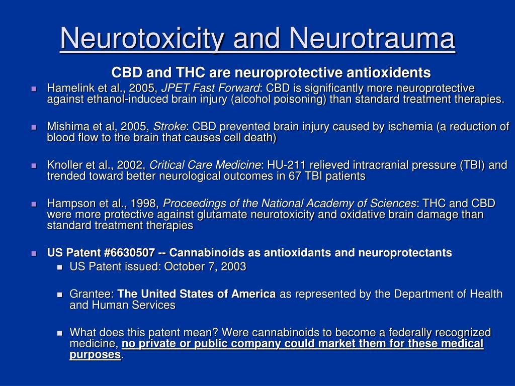 Neurotoxicity and