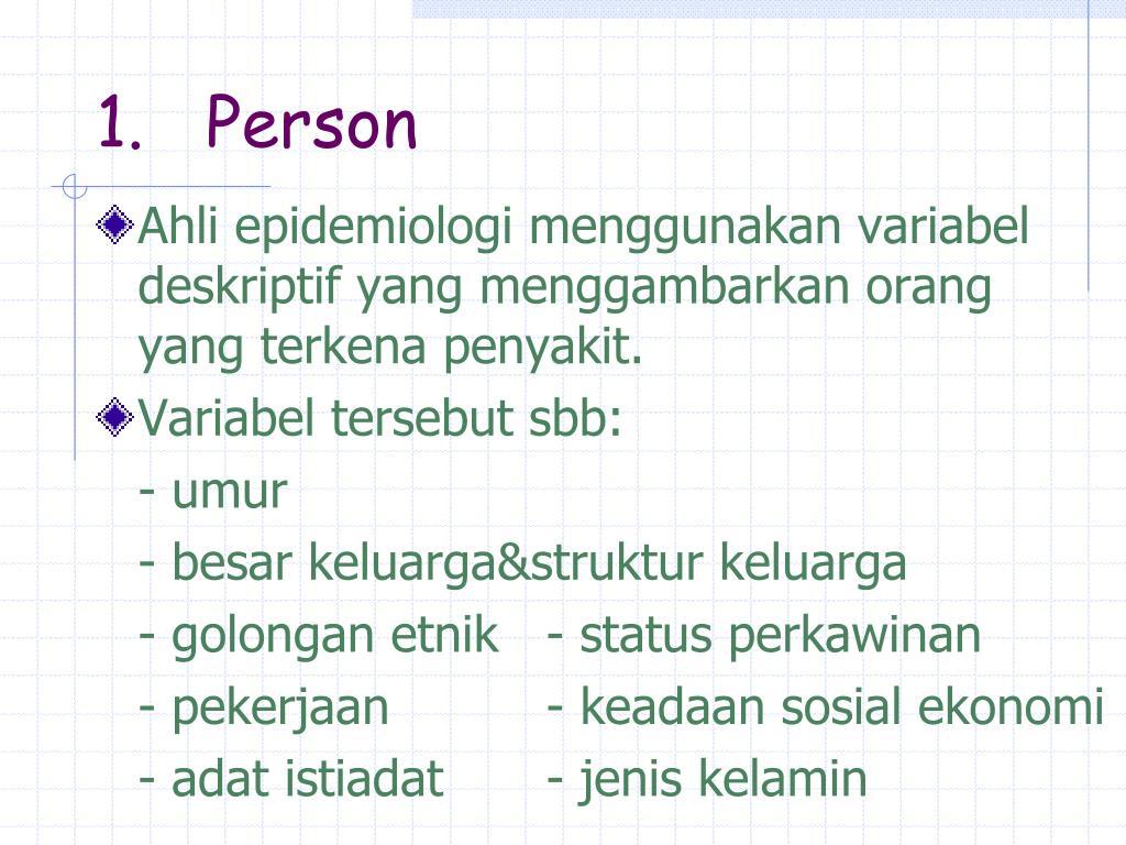 1.   Person