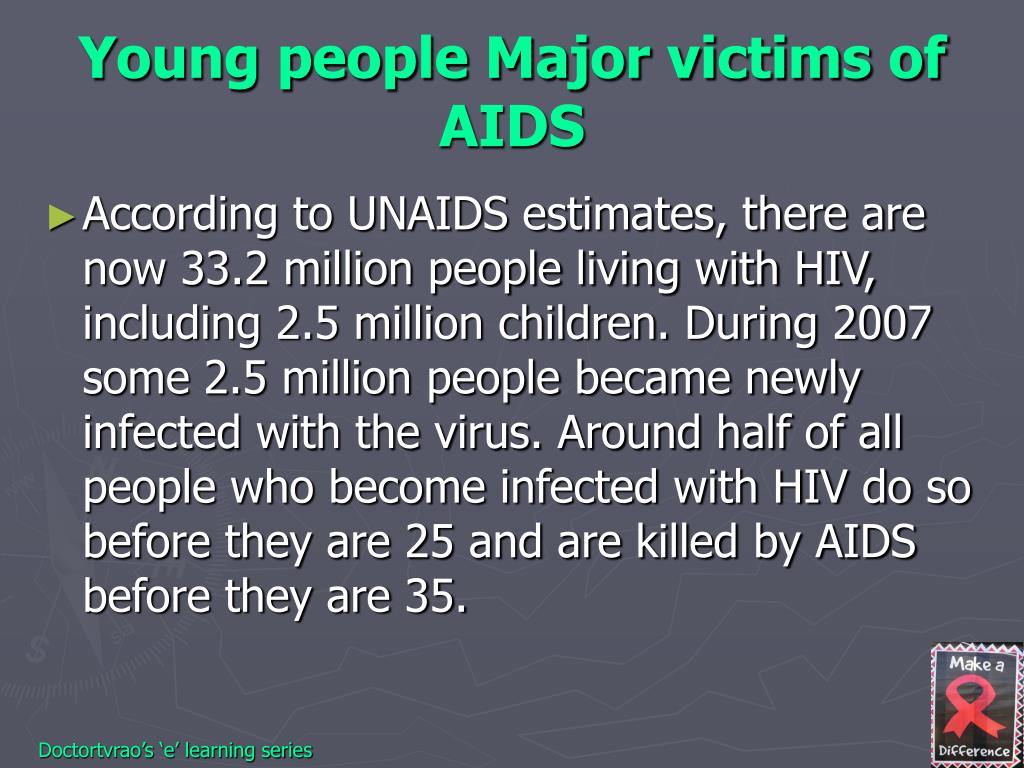 Young people Major victims of