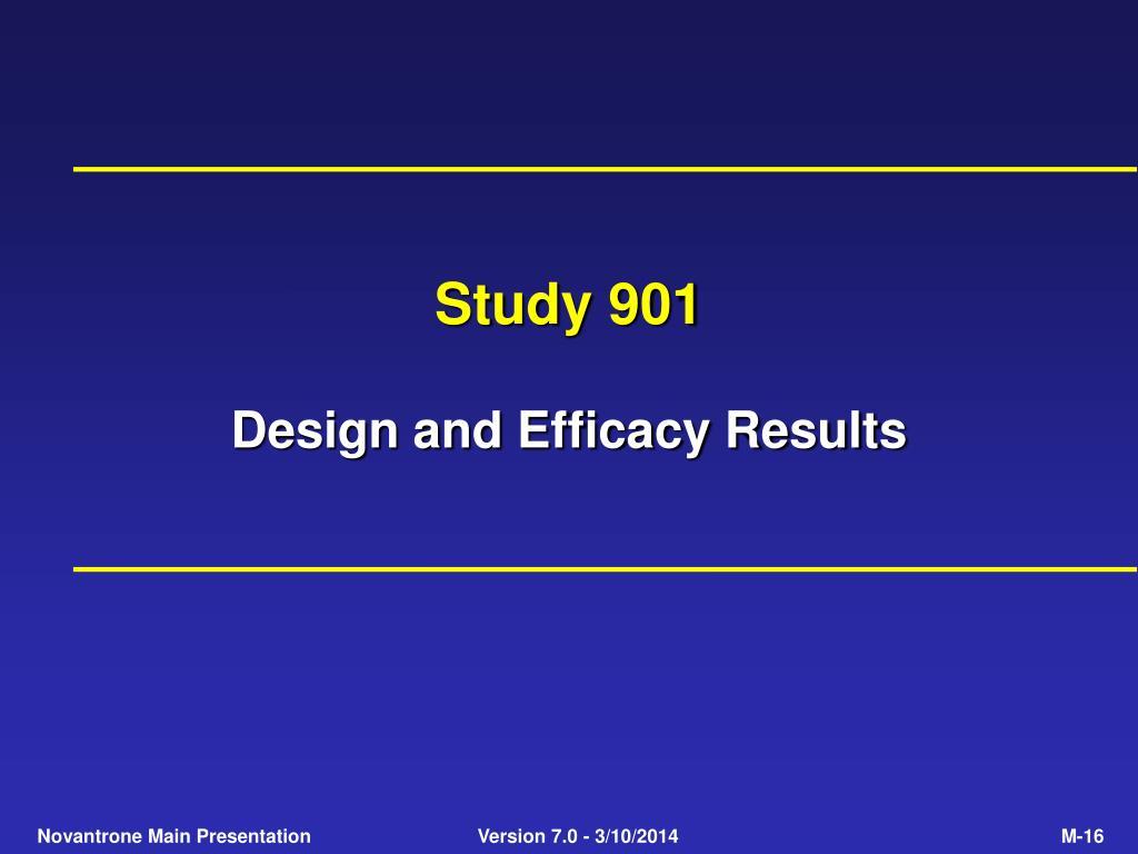 Study 901