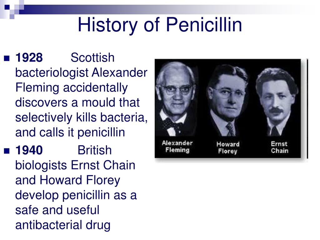 History of Penicillin