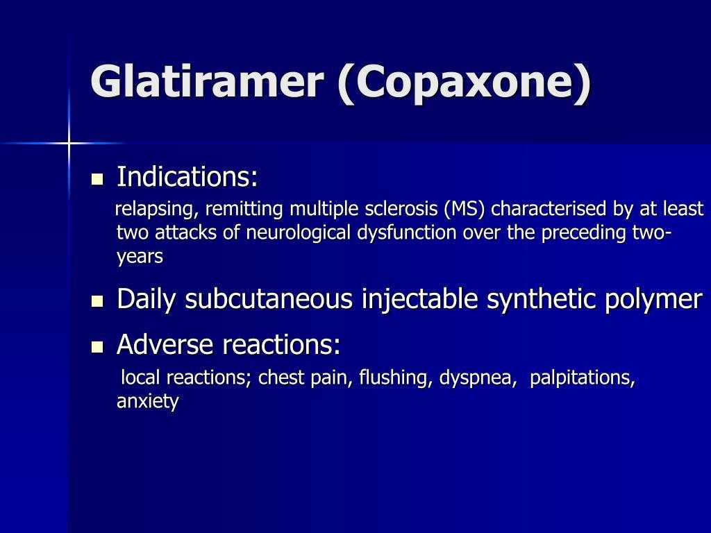 Glatiramer (Copaxone)