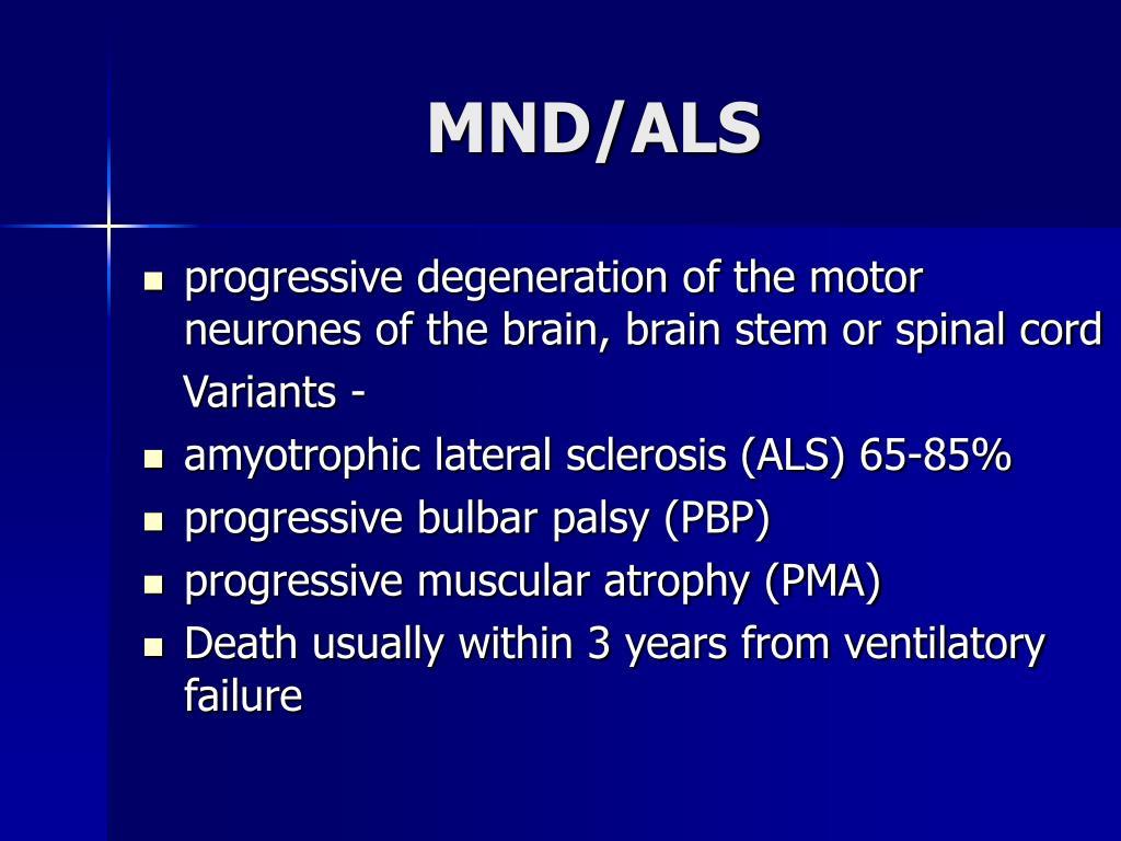 MND/ALS