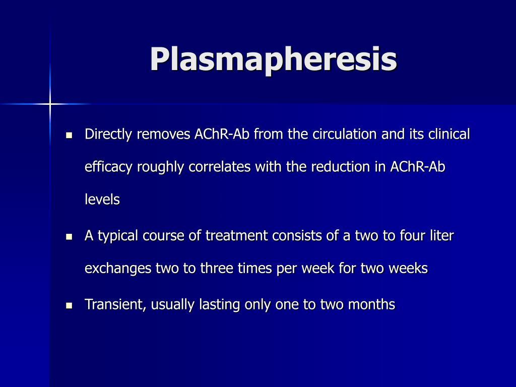 Plasmapheresis