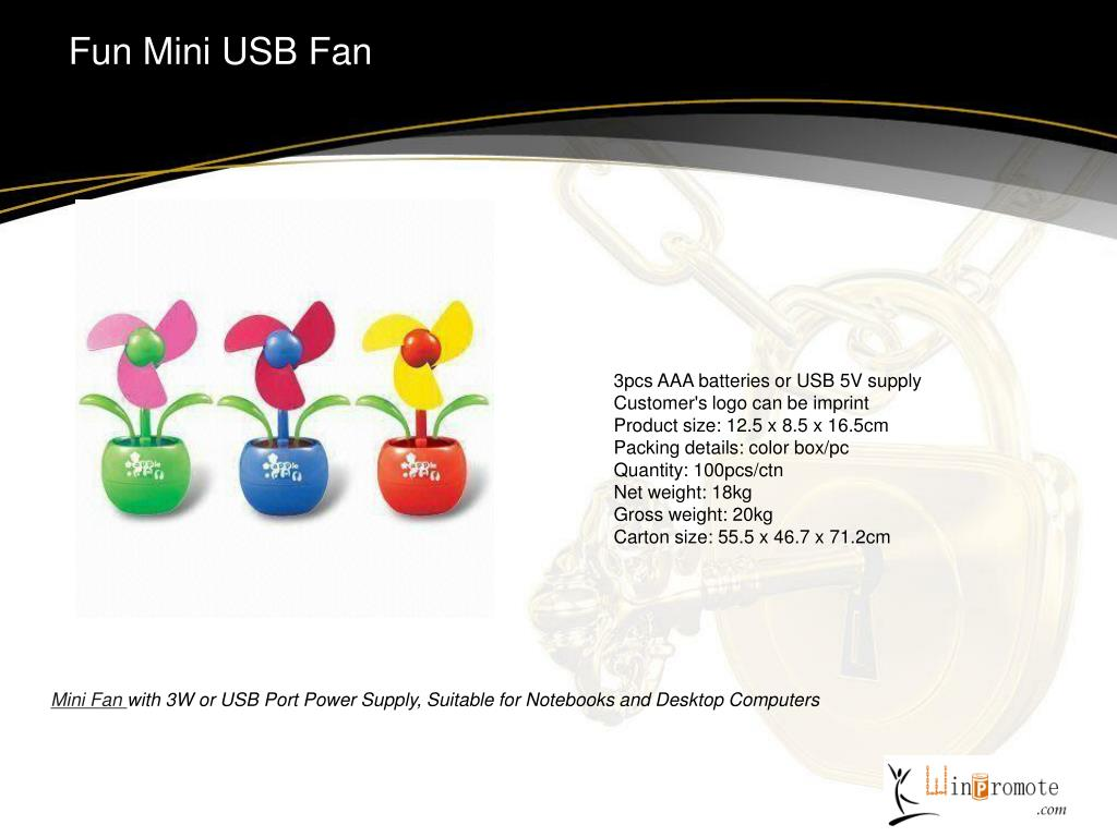 Fun Mini USB Fan