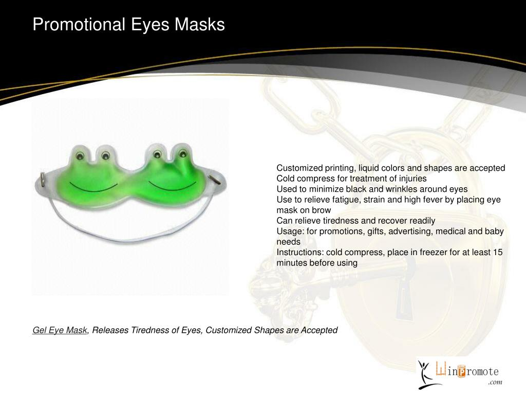 Promotional Eyes Masks