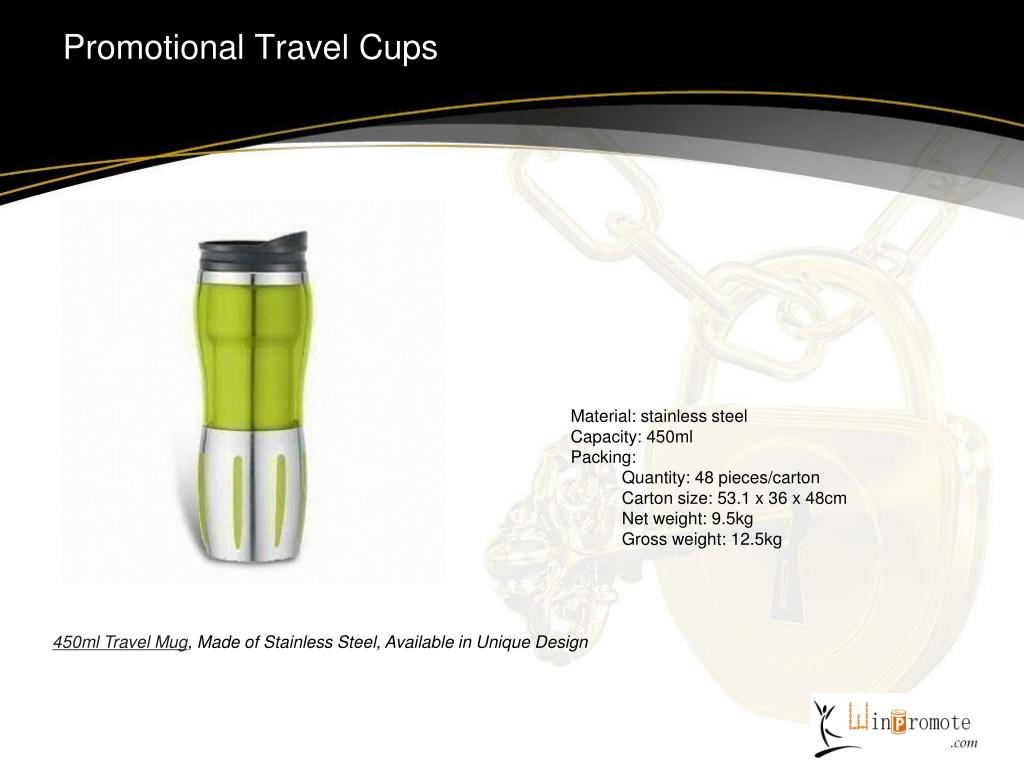 Promotional Travel Cups