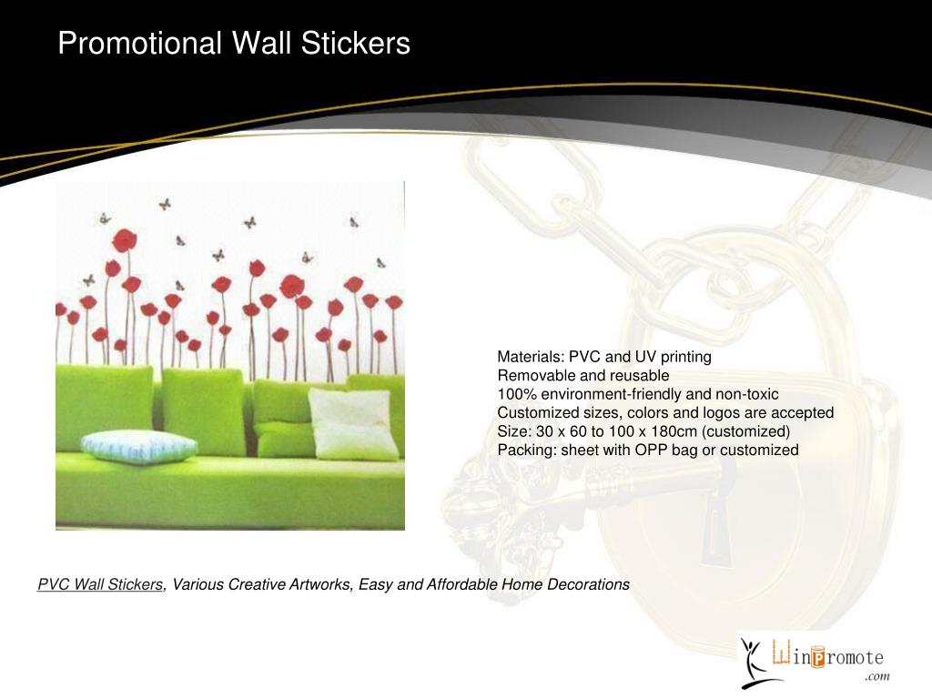 Promotional Wall Stickers