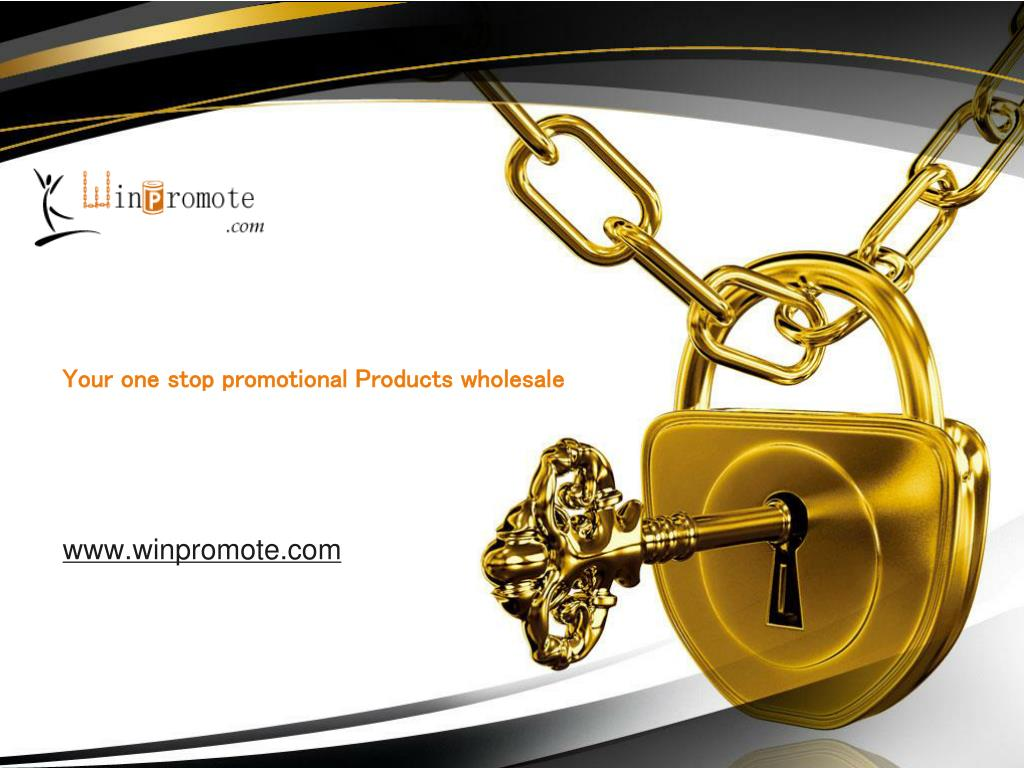 Your one stop promotional Products wholesale