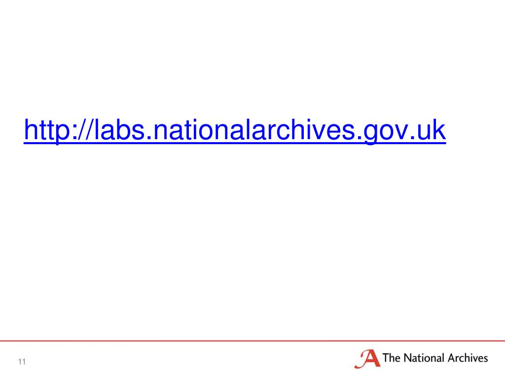 http://labs.nationalarchives.gov.uk