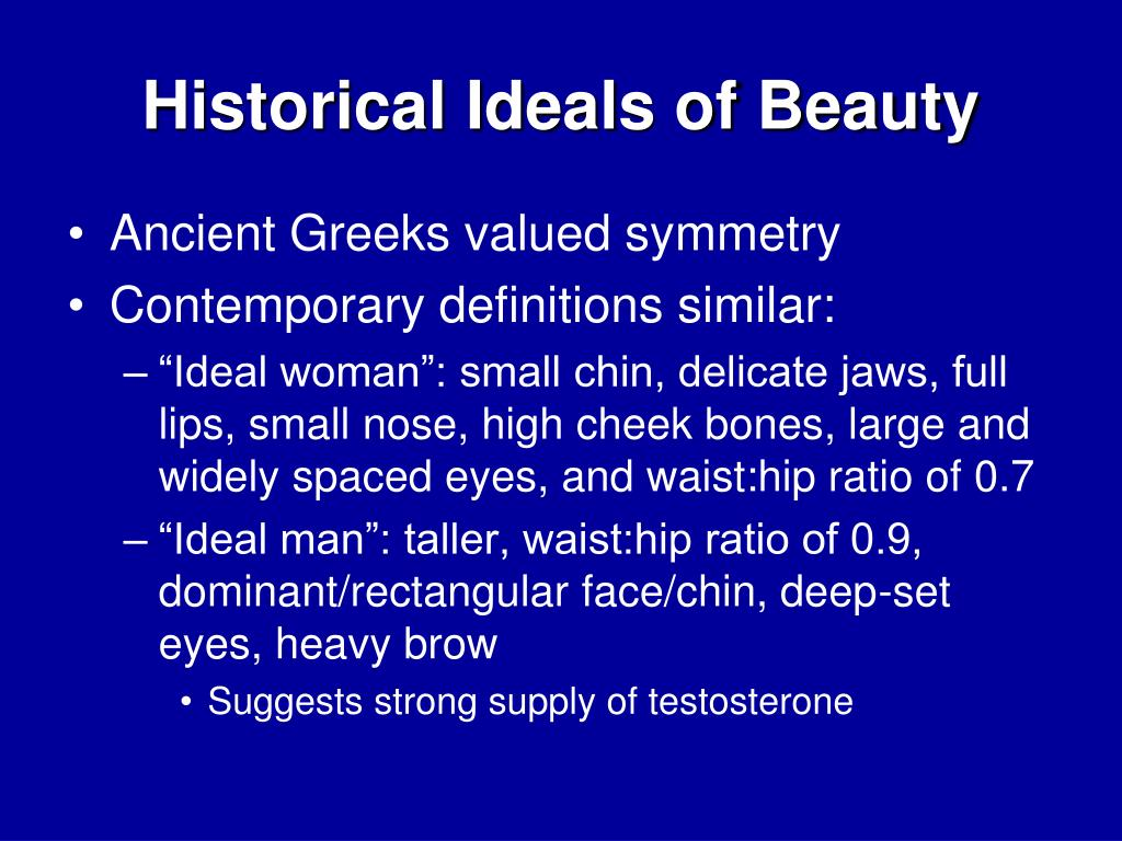 Historical Ideals of Beauty