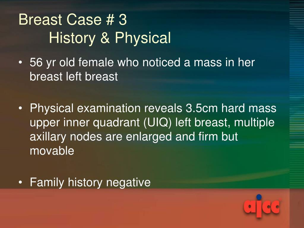 Breast Case # 3