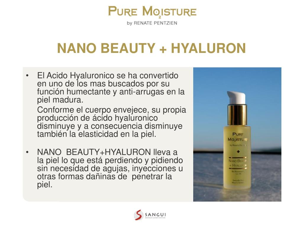 NANO BEAUTY + HYALURON