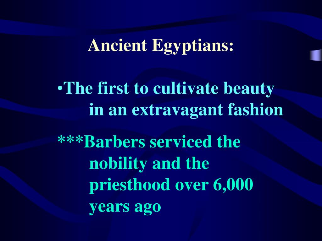Ancient Egyptians: