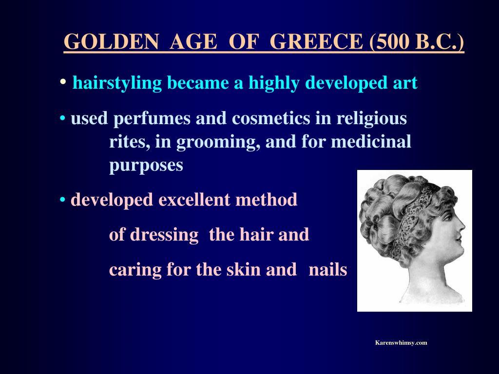 GOLDEN  AGE  OF  GREECE (500 B.C.)