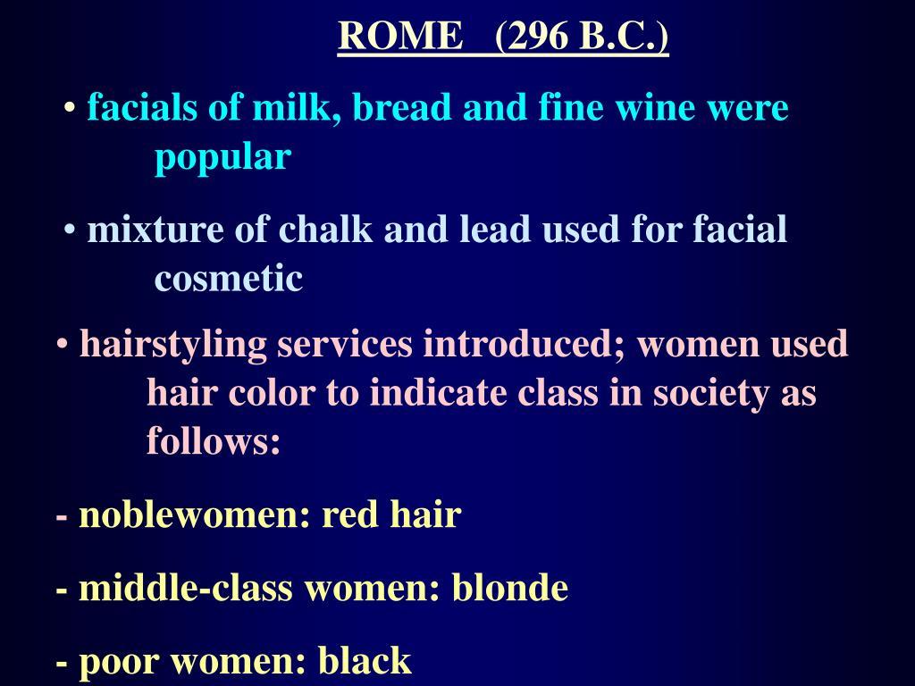 ROME   (296 B.C.)