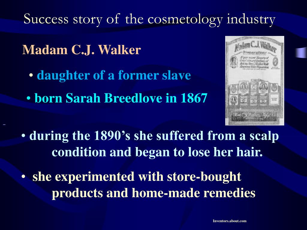 Success story of the cosmetology industry