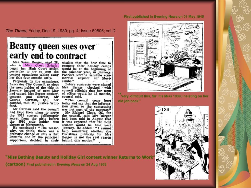 First published in Evening News on 01 May 1945