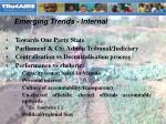 emerging trends internal