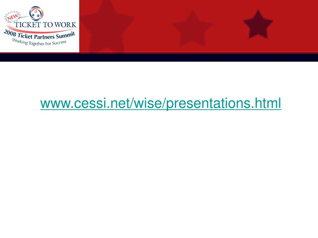 www.cessi.net/wise/presentations.html