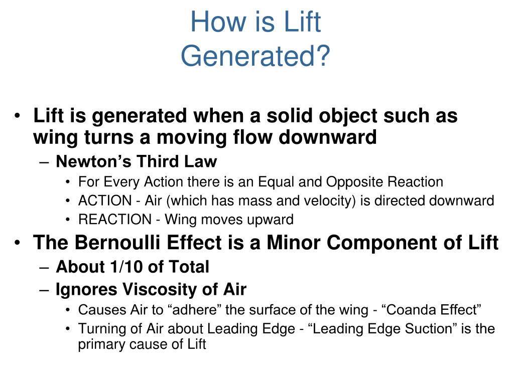 How is Lift Generated?