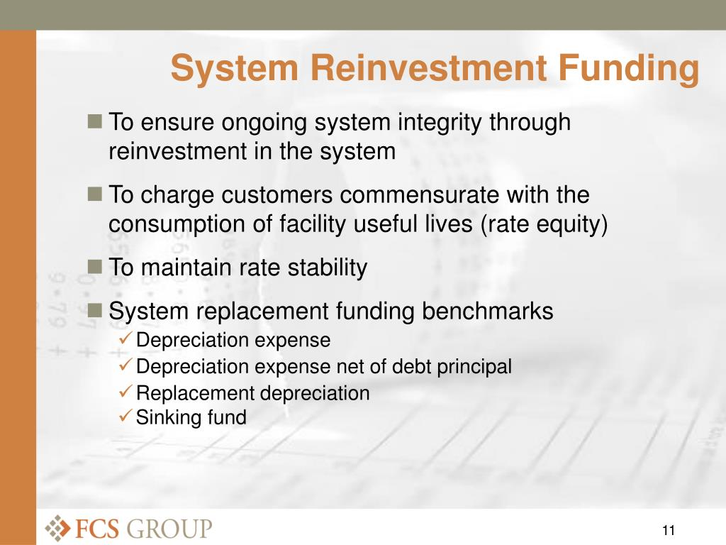 System Reinvestment Funding