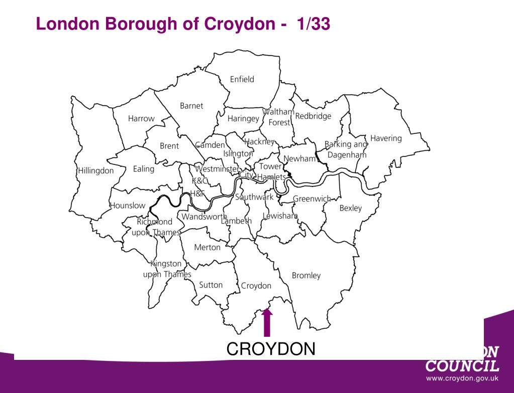 London Borough of Croydon -  1/33