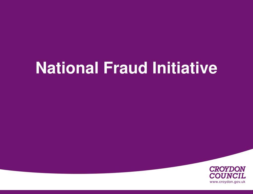 National Fraud Initiative