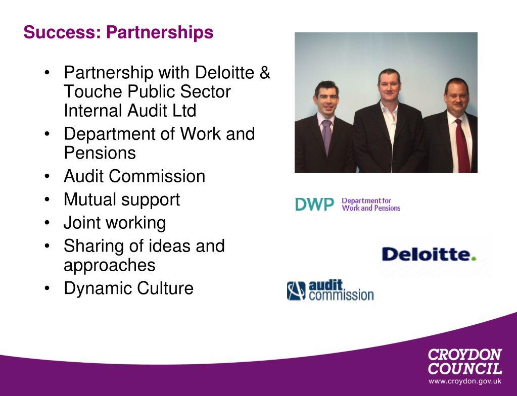 Success: Partnerships