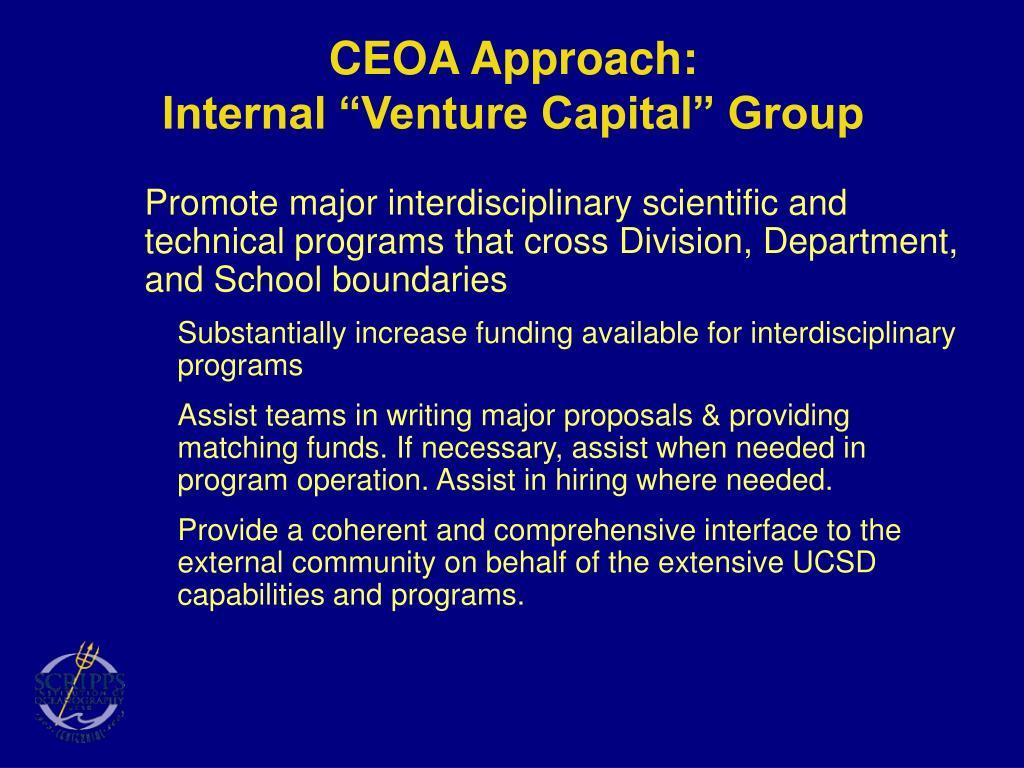 CEOA Approach: