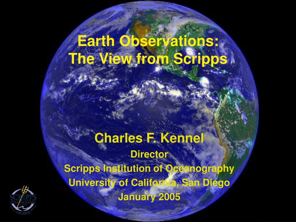 Earth Observations: