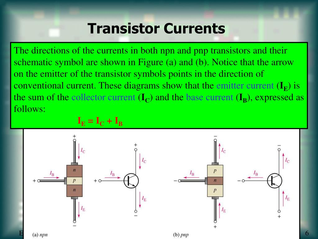 Transistor Currents