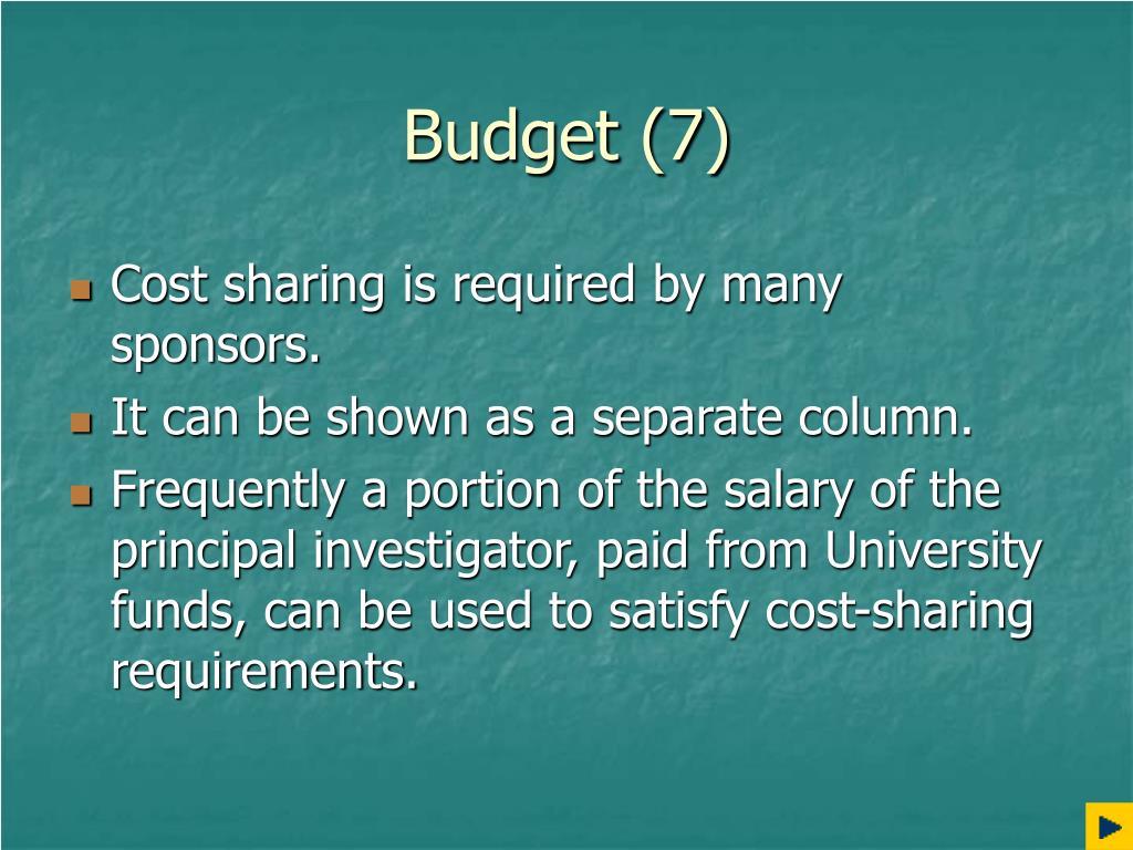 Budget (7)